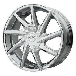 KMC Wheels KM705 Burst - Chrome Rim - 24x9.5