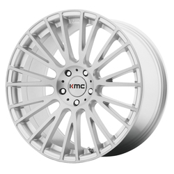 KMC Wheels KM706 Impact - Brushed Silver - 20x10