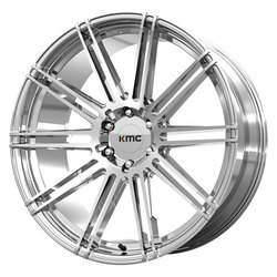 KMC Wheels KM707 Channel - Chrome Rim - 24x9.5