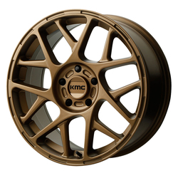 KMC Wheels KM708 Bully - Matte Bronze Rim - 15x7