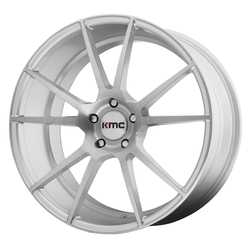 KMC Wheels KM709 Flux - Brushed Silver - 20x10