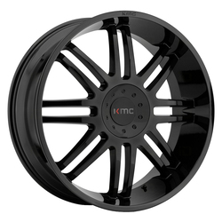 KMC Wheels KMC Wheels KM714 Regulator - Gloss Black