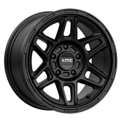 KM716 Nomad - Satin Black - 18x8