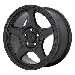 KMC Wheels KMC Wheels KM721 ALPINE - Satin Black