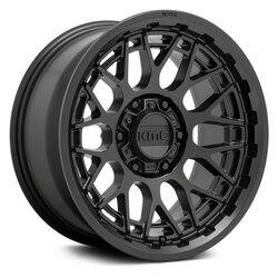 KMC Wheels KM722 Technic - Satin Black Rim