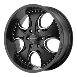 KMC Wheels KM755 Venom - Matte Black
