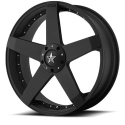 KMC Wheels KMC Wheels KM775 Rockstar - Matte Black
