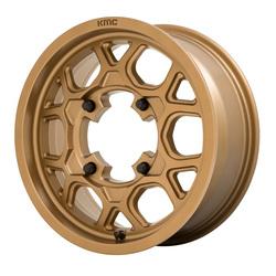 KMC Wheels KS133 - Matte Bronze Rim - 15x6
