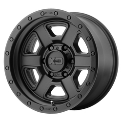 XD Series Wheels XD133 Fusion Off-Road - Satin Black Rim