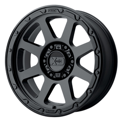 XD Series Wheels XD134 Addict 2 - Matte Black Rim