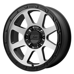 XD Series Wheels XD134 Addict 2 - Matte Black w/Machined Face
