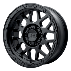 XD Series Wheels XD135 Grenade OR - Matte Black Rim