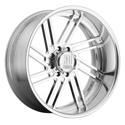 XD Series Wheels XD406 Fringe - Polished Rim
