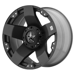 XD Series Wheels XD775 Rockstar - Matte Black Rim