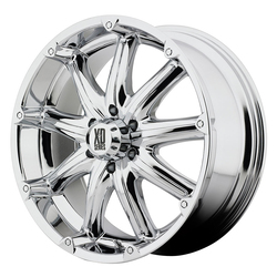 XD Series Wheels XD779 Badlands - Chrome Rim