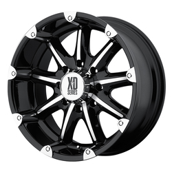 XD Series Wheels XD779 Badlands - Gloss Black Machined