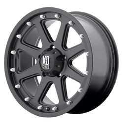 XD Series Wheels XD798 Addict - Matte Black Rim