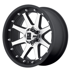 XD Series Wheels XD798 Addict - Matte Black Machined Rim - 16x9