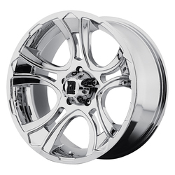 XD Series Wheels XD801 Crank - Chrome Rim