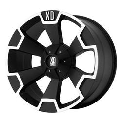 XD Series Wheels XD803 Thump - Matte Black Machined Rim