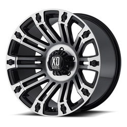 XD Series Wheels XD810 Brigade - Gloss Black Machined