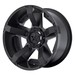 XD Series Wheels XD811 Rockstar II - Matte Black/Accents