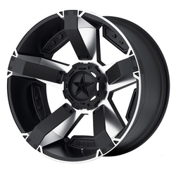 XD Series Wheels XD811 Rockstar II - Matte Black Machined/Accents