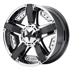 XD Series Wheels XD811 Rockstar II - PVD w/Matte Black Accents