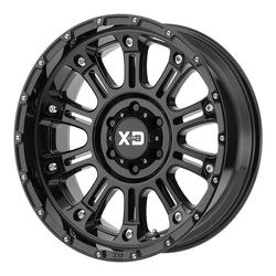 XD Series Wheels XD829 Hoss II - Gloss Black Rim