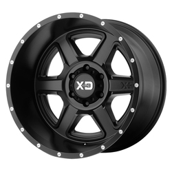 XD Series Wheels XD832 Fusion - Satin Black