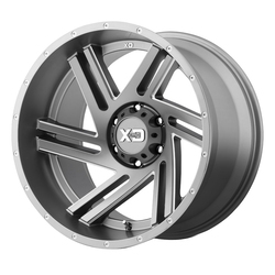 XD Series Wheels XD835 Swipe - Satin Grey Milled