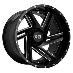 XD Series Wheels XD835 Swipe - Satin Black Milled