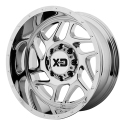XD Series Wheels XD836 Fury - Chrome Rim