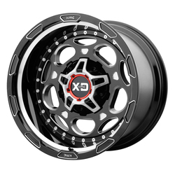 XD Series Wheels XD837 Demodog - Gloss Black Milled Rim