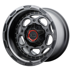XD Series Wheels XD837 Demodog - Satin Black / Gray Clear Coat Rim