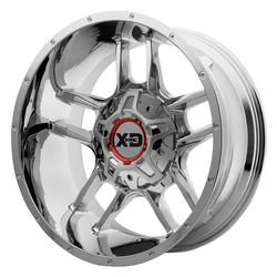 XD Series Wheels XD839 Clamp - Chrome Rim