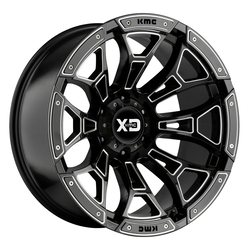 XD Series Wheels XD841 Boneyard - Gloss Black Milled