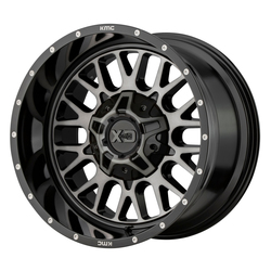 XD Series Wheels XD842 Snare - Gloss Black Gray Tint Rim
