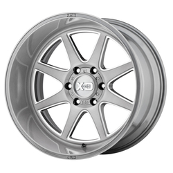 XD Series Wheels XD844 Pike - Titanium Brushed Milled Rim