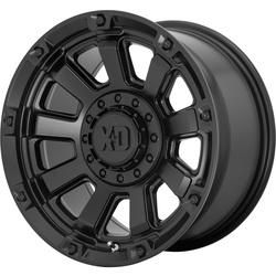 XD Series Wheels XD852 Gauntlet - Satin Black Rim