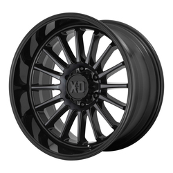 XD Series Wheels XD857 Whiplash - Gloss Black With Gray Tint Rim