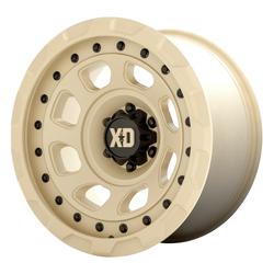XD Series Wheels XD861 Storm - Sand Rim - 20x10