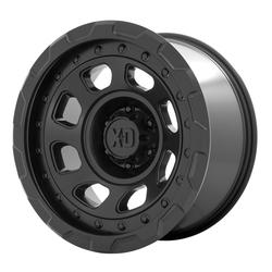 XD Series Wheels XD861 Storm - Satin Black Rim