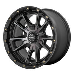 XD Series Wheels KM100 Sync - Satin Black with Gray Tint Rim