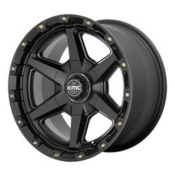 XD Series Wheels KM101 Tempo - Satin Black Rim