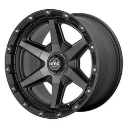 XD Series Wheels KM101 Tempo - Satin Black with Gray Tint Rim