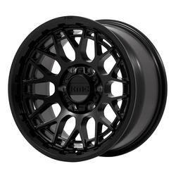 XD Series Wheels KM722 Technic - Satin Black Rim