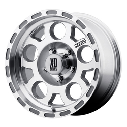 XD Series Wheels XD122 Enduro - Machined w/Clearcoat - 16x8