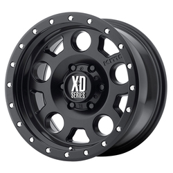 XD Series Wheels XD126 Enduro Pro - Satin Black With Reinforcing Ring Rim