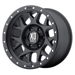 XD Series Wheels XD127 Bully - Satin Black w/Reinforcing Ring